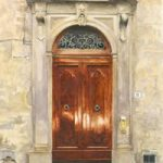 Porto di Firenze – Florence Building Door – Italy Art Gallery – Fine Art Prints For Sale