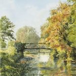 Bowers Bridge Wey Navigation Guildford – Surrey Scenes Art Gallery – Fine Art Prints For Sale