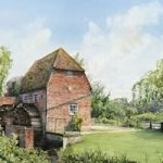 Cobham Mill Elmbridge – Surrey Scenes Art Gallery – Fine Art Prints For Sale