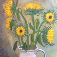 Flower Paintings By Surrey Artist Jennifer Brown