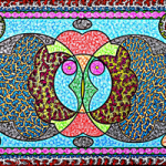Pattern Design Art by Surrey Artist Martyn Wyndham-Read