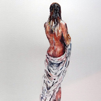 Nudes Art Gallery – Nude Woman Standing – Prints Of Painting Available