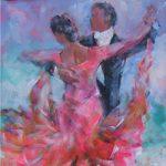Ballroom Dancing Foxtrot Waltz Painting