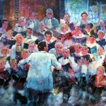 Choir In Concert Music Art Gallery Prints English Choral Group