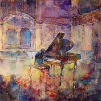 Piano Recital Classical Music Painting Concert Hall