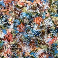 Autumn Flowers Painting – Four Seasons Collection Fall – Art Prints – Hampton London Artist Jennifer Brown