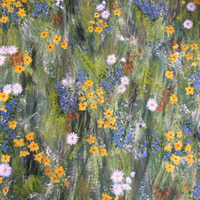 Spring Flowers Painting – Four Seasons Collection – Art Prints – Hampton London Artist Jennifer Brown