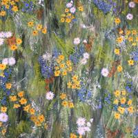 Spring Flowers Painting – Four Seasons Collection – Art Prints – Hampton London Artist Jennifer Brown