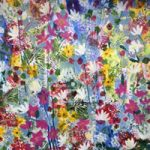 Summer Flowers Painting – Four Seasons Collection – Art Prints – Hampton London Artist Jennifer Brown