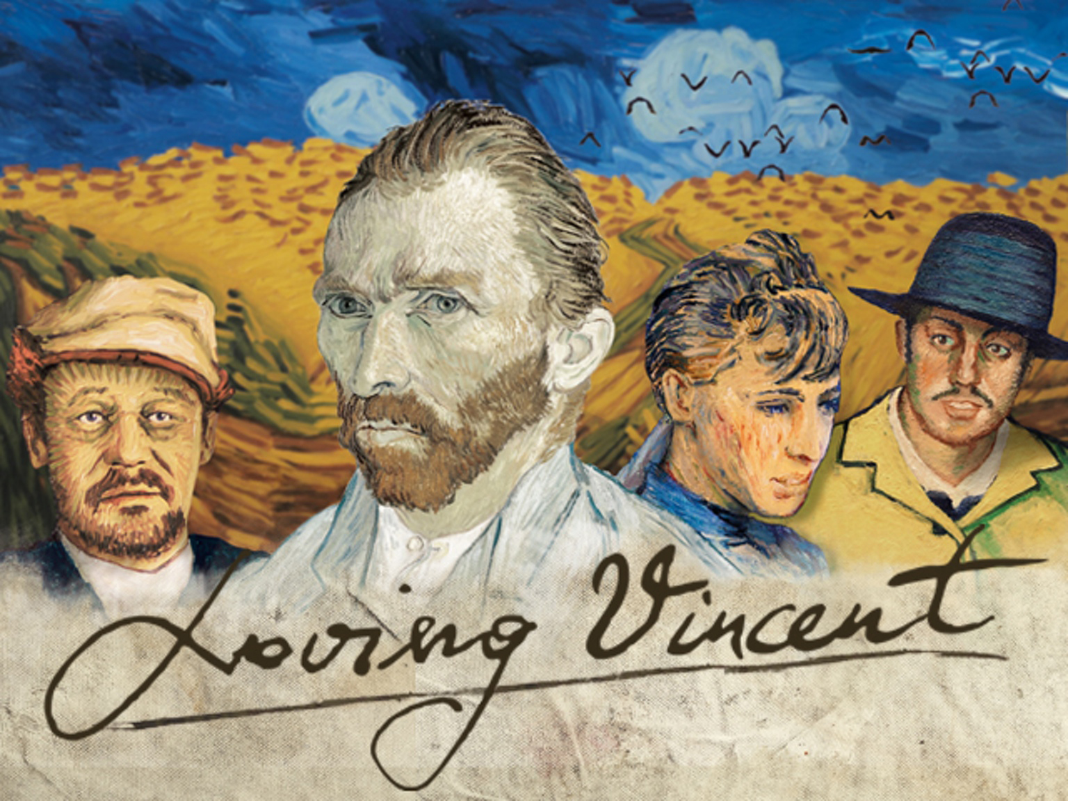 Loving Vincent - Film about Van Gogh Hand Drawn & Painted in Oils