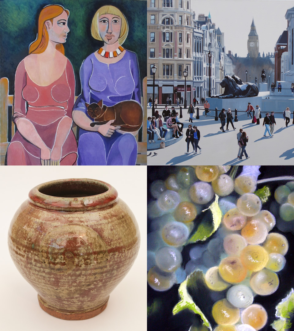 Artists in Exhibition are members of the North Surrey Artists Group,artists from Guildford, Farnham & Woking Art Societies