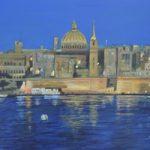 Valletta Malta Painting Fine Art Prints