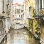 Venice Waterway – David Drury – Surrey Artist
