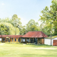 Woking Cricket Club – Byfleet Art Group member – David Drury