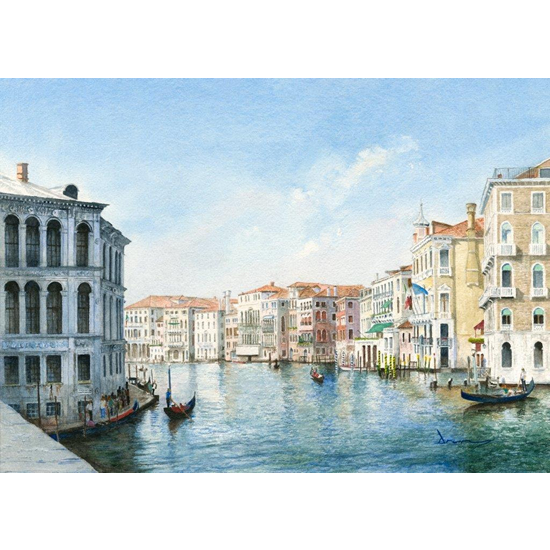 Grand Canal Venice - Italy Art Gallery - Fine Art Prints For Sale