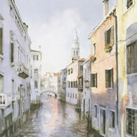 Venetian Canal – Venice Italy Art Gallery – Fine Art Prints Of Painting