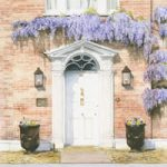 Wysteria Growing Over Cottage Door – Countryside Art Gallery – Fine Art Prints Of Painting