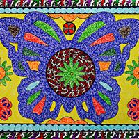 Butterfly Pattern Design Art by Martyn Wyndham-Read