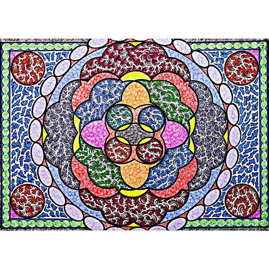 Pattern Imagery Art - Rose by Martyn Wyndham Read