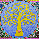 Tree of Life by Martyn Wyndham-Read Sussex Pattern Image Art