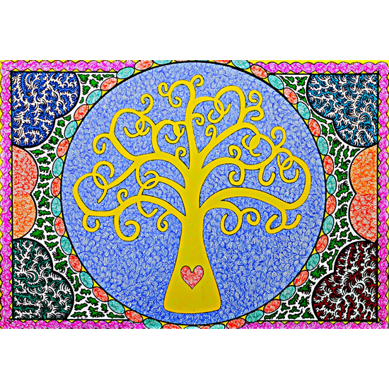 Tree of Life by Martyn Wyndham-Read Sussex Artist