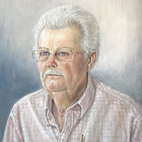 Portrait Painting of Man – Reigate Surrey Artist