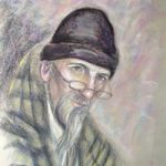 Portrait Painting of Man – Commissions by Woking Art Society member Ian Henderson of Redhill Surrey Artist
