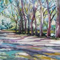 Botanical Gardens Natal South Africa – Art Tutor and Painting Workshops – Hildegarde Reid