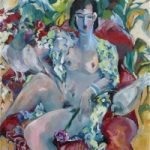 Homage to Henri Nude Woman – Hildegarde Reid Surrey Art Tutor