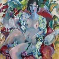 Homage to Henri Nude Woman – Hildegarde Reid Surrey Art Tutor