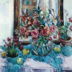 Reflections Still Life Painting Hildegarde Reid Surrey Artist