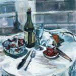 Study in Greys – Molesey Art Society Artist Hildegarde Reid