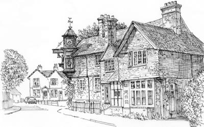 Abinger Hammer Artwork – Guildford & Dorking