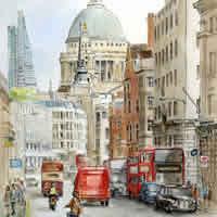 Fleet Street London Art - Malcolm Surridge