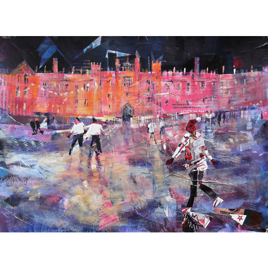 Hampton Court Palace London – Ice Skating - Art Prints and Gifts