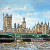 Malcolm Surridge Surbiton Artist – Paintings from collection on earlier Surrey Artists website