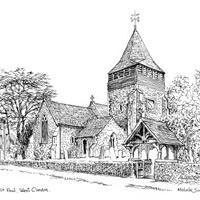 St Peter & Paul Church – West Clandon Artwork