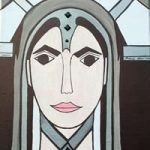 Angel Art Prints – Art Deco Painting – Karen Marie Budge