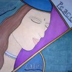 Love, Peace, Calm Painting – Karen Maire Budge Farnborough Hampshire Artist