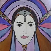 Angel Art Prints For Sale – Radiance – Karen Budge Farnborough Hampshire Artist