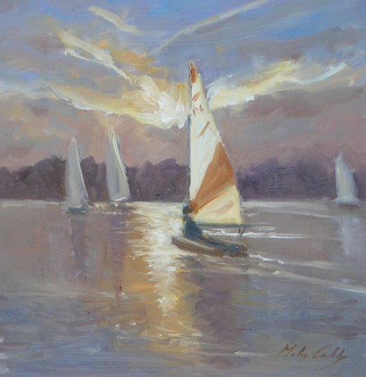 Evening Sail, Papercourt - Melanie Cambridge