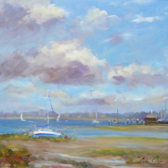 Low Tide, Bosham - Melanie Cambridge
