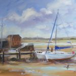 Low Tide, Dell Quay – Painting – Melanie Cambridge