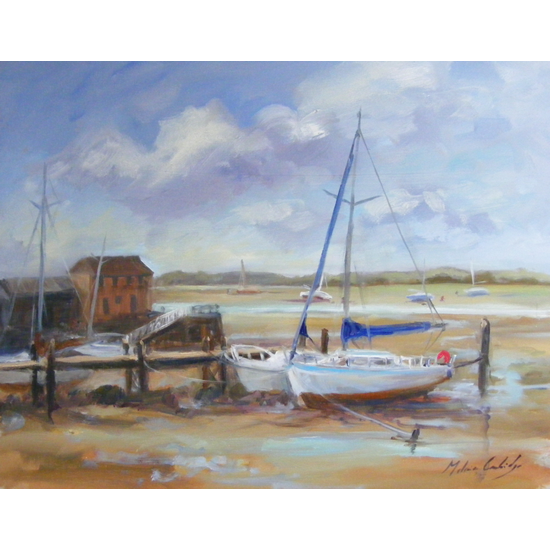 Low Tide, Dell Quay - Melanie Cambridge
