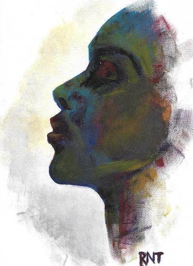 Profile - Rachael Tan Painting