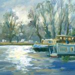 Walsham Sunlight – Painting – Melanie Cambridge