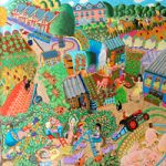 Allotments Painting – Tony Todd Artist