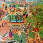 Gardens of Delight Painting – Tony Todd Art