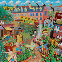 The Allotments Painting – Tony Todd Artist