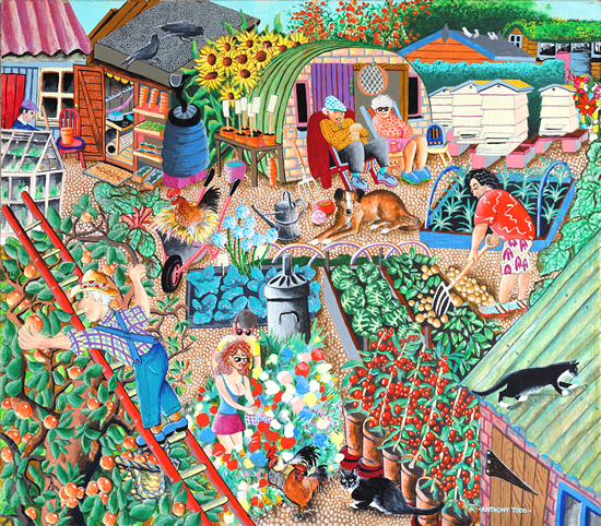Allotments Painting Tony Todd